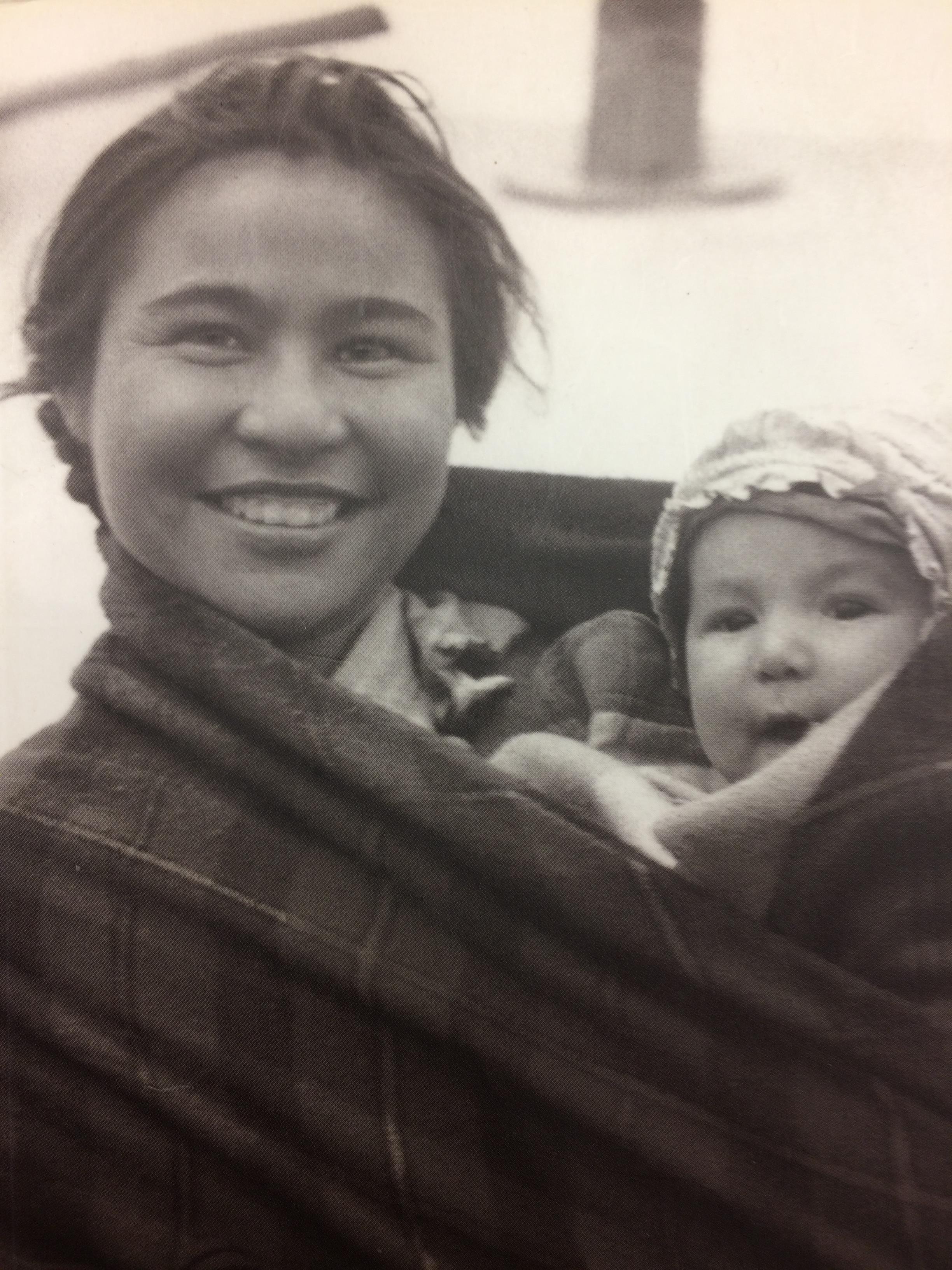 On n'a pas d'image de Cécile Kaorate, mais on peut l'imaginer sous les traits de cette jeune mère naskapie des années 1940