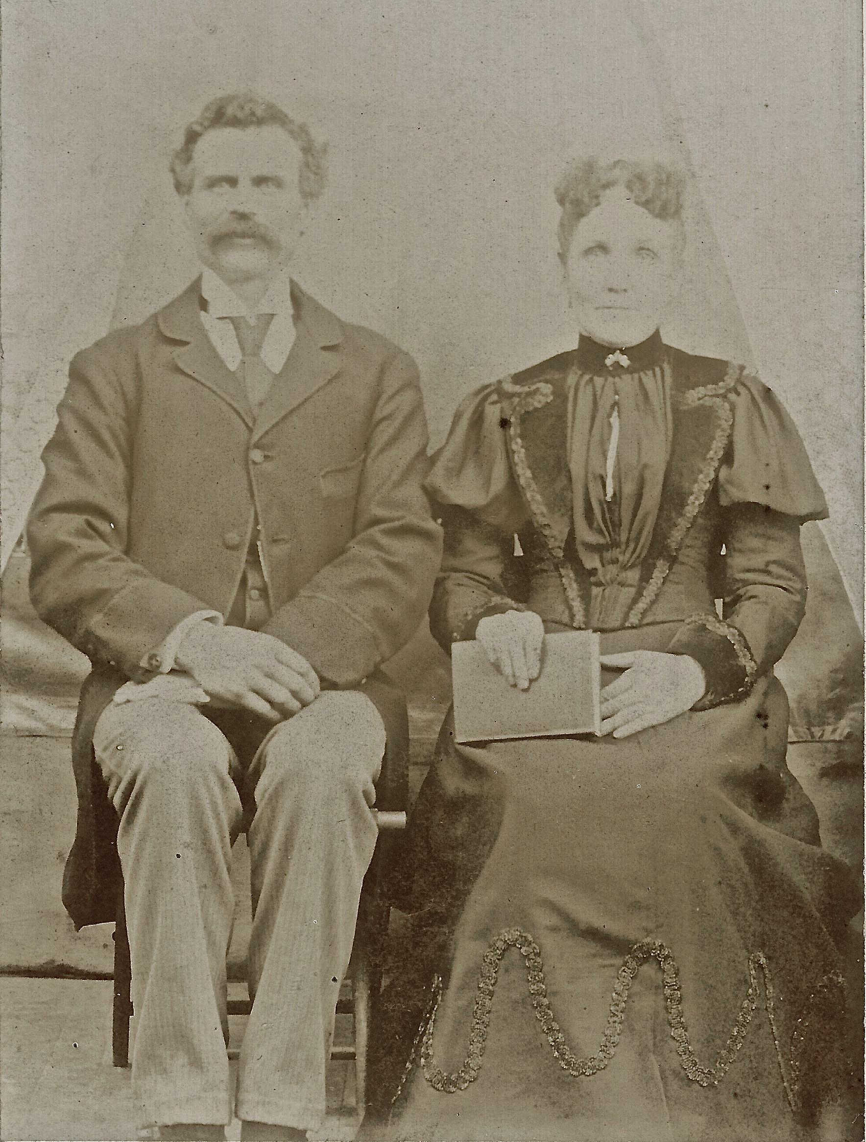 Maxime Léon Lizotte et Elizabeth Holland, grands-parents de Blanche